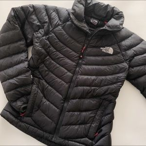 THE NORTH FACE Black Summit 800 Down Jacket XS